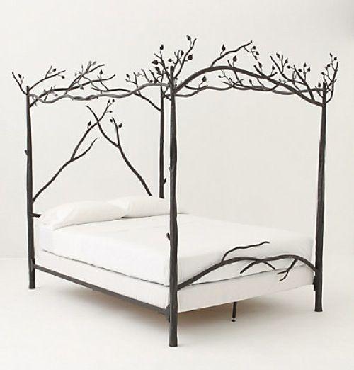 Кровать из кованного железа