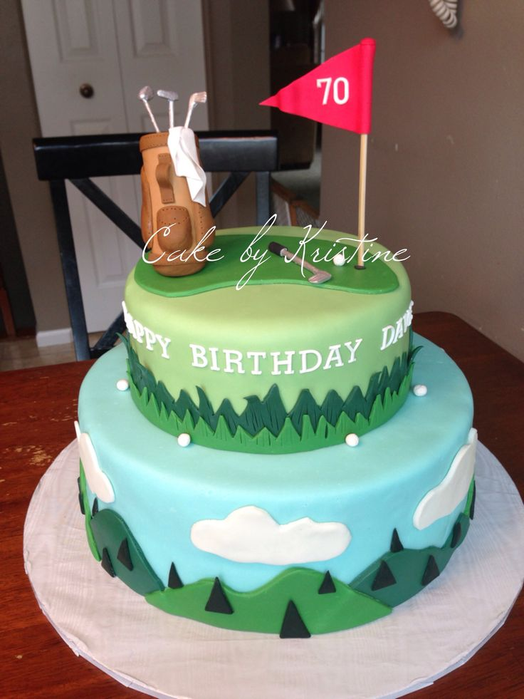 Best 25+ Golf cakes ideas on Pinterest Golf themed cakes ...