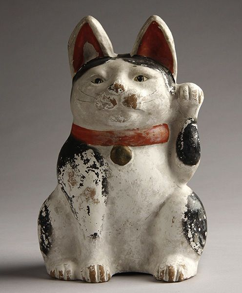 antique japanese lucky cat - Google Search