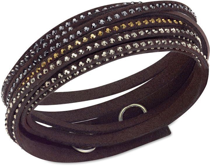 Swarovski Slake bracelet on shopstyle.com