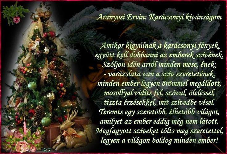 Karácsonyi kívánságom