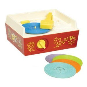 Fisher Price Record Player! I had one of these when I was a little girl.  You can still buy them today for $25?!