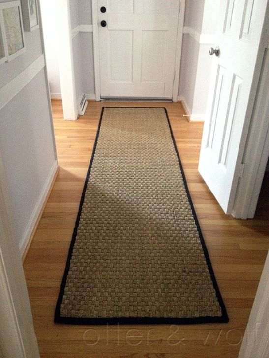 Natural Seagrass Entry Rug Runner | Otter And Wolf
