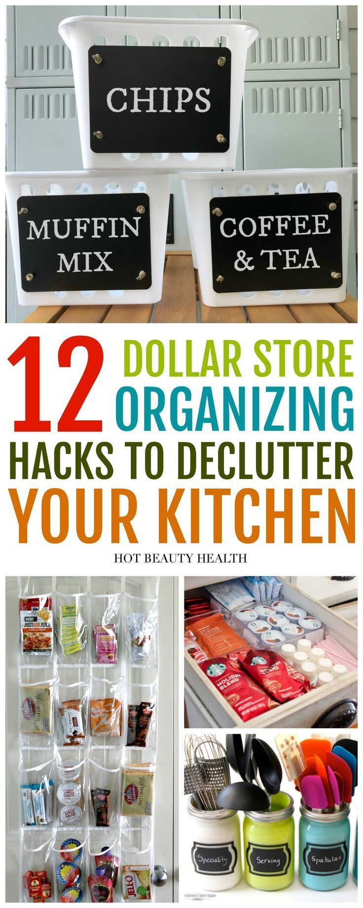 12 Dollar Store Kitchen Hacks That'll Blow Your Mind
