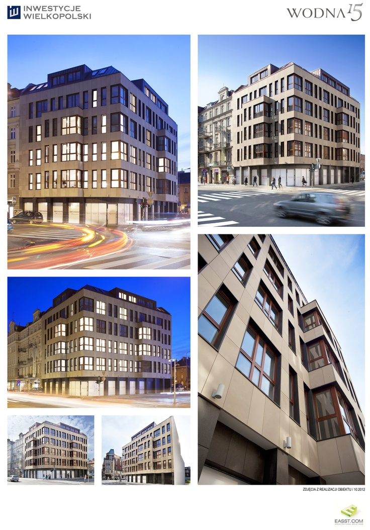 W15 / residencial building located in Pozna, Poland. All rights reserved. 2015 www.easst.com