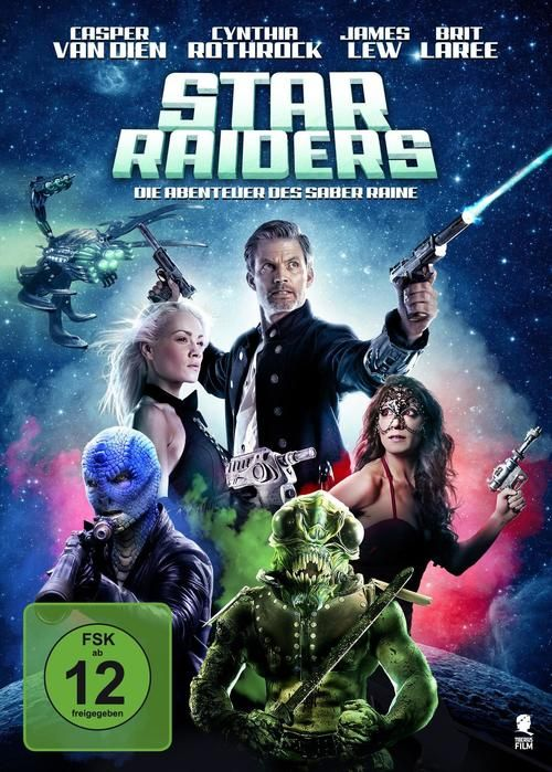 Star Raiders: The Adventures of Saber Raine 2017 full Movie HD Free Download DVDrip