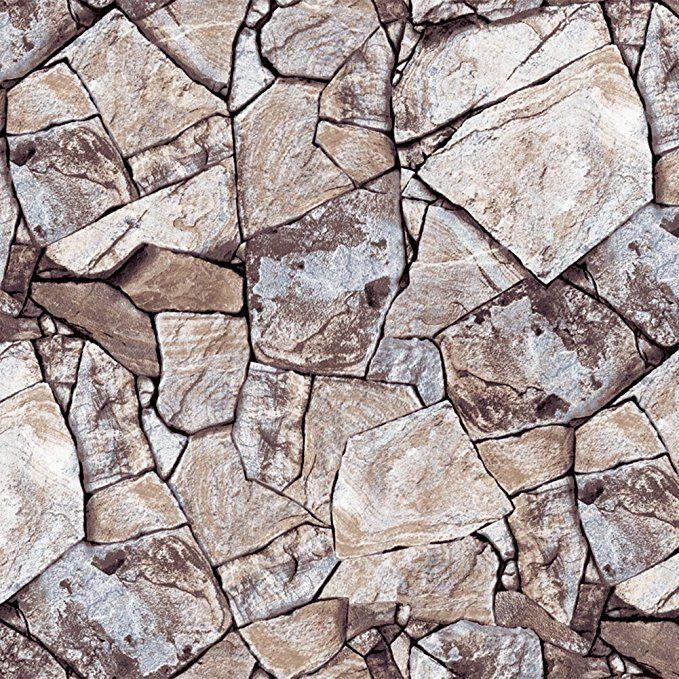 Pin By Za Te On Idei Dlya Doma Faux Stone Stone Wallpaper Peel And Stick Wallpaper