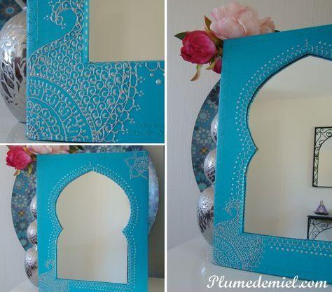 Découvrez comment fabriquer un miroir oriental diy