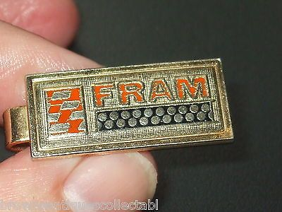 Vintage gold ptd fram air #filter automobilia tie clip #clasp #enamel gents gift ,  View more on the LINK: http://www.zeppy.io/product/gb/2/221952425356/