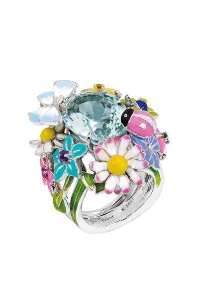 dior jewel by victoire de castellane  diorette ring