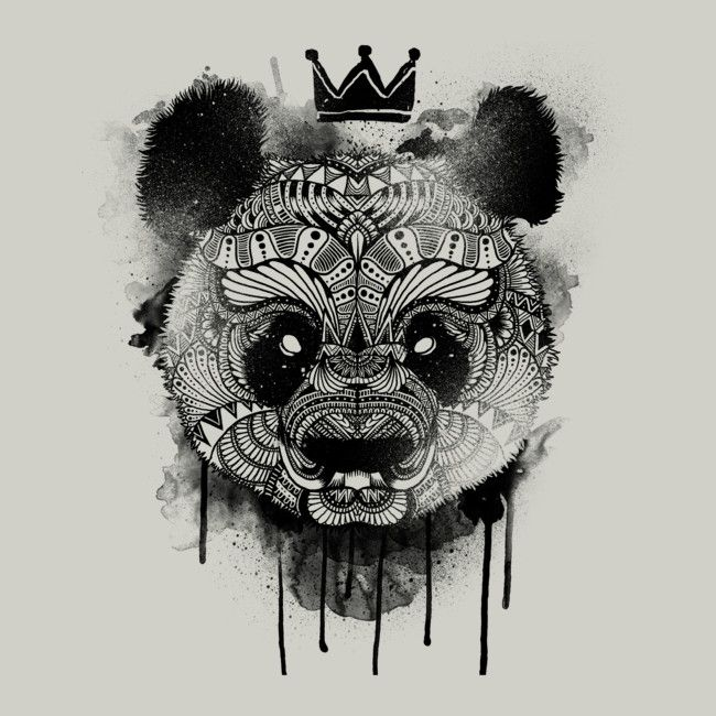 Neo Panda is a T Shirt designed by wolfinger to illustrate your life and is available at Design By Humans