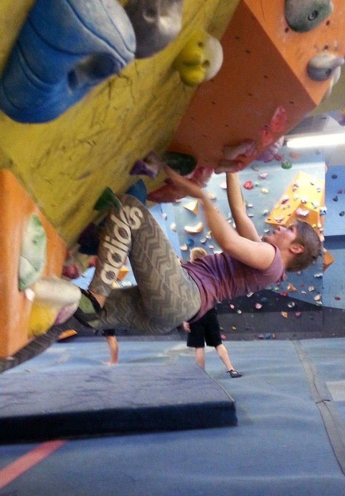 Boulderointi, kiipeily / bouldering, climbing