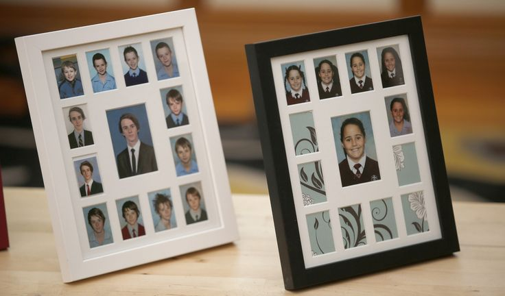 Create a beautiful timeline of your child's school years with a School Years Photo Frame.