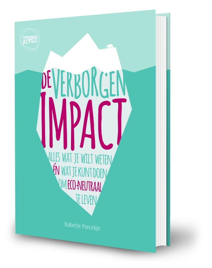 De Verborgen Impact - Babette Porcelijn. Boek over gevolgen voor het milieu.