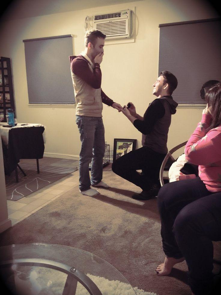 romantic gay proposal