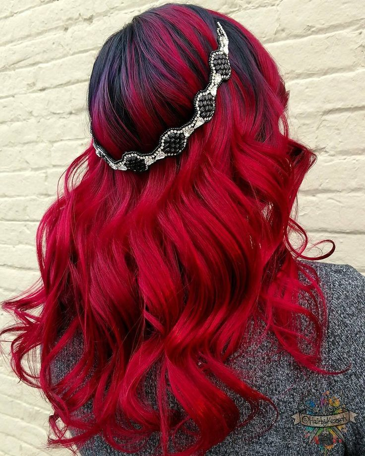 Bound by wild desire I fell into a ring of fire.❤ used all pulp riot hair color