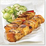 Chicken Kebabs with Ginger
