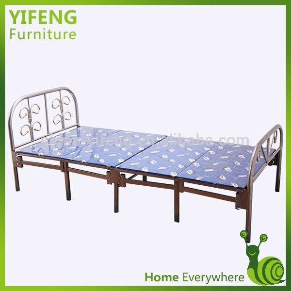 Good Price And Best Quality Sinlgle Folding Bed With Bed Sheets A-11