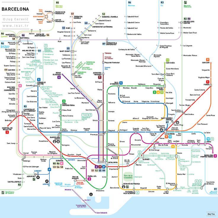 외국인 건축가가 디자인한 서울의 지하철 노선도 - 이미지