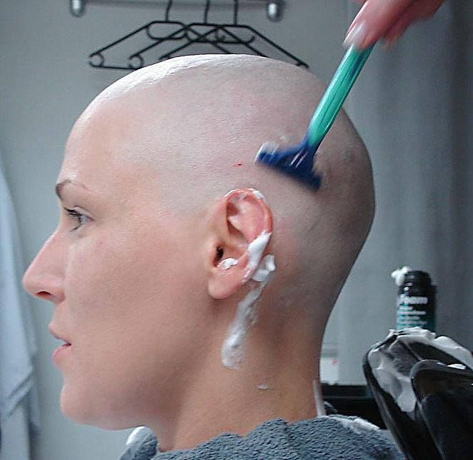 clipper head shaved