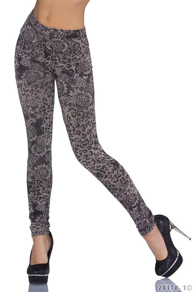 Fuseaux comodi e dal design superbo. L'abbinamento di questi leggings è estremamente facile e ben si adattano alla maggior parte dei capi invernali present