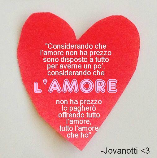 """Love! Amore! Amor #jovanotti """"...offrendo tutto l'amore che ho...."""" cc @Claudia Chavez"""