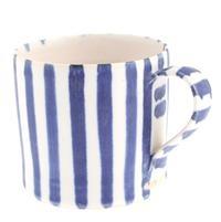 Pick up a bright, coastal-inspired mug from Sue Binns at @Cry of the Gulls Fowey
