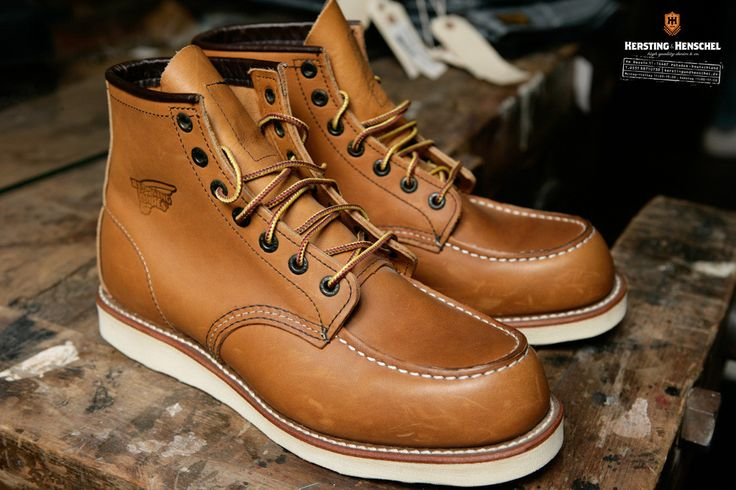 """Red Wing 875 Moc Toe 6"""" Oro-Legacy"""