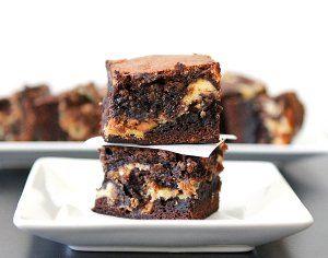 Peanut Butter Cheesecake and Cookie Dough Brownies   AllFreeCasseroleRecipes.com