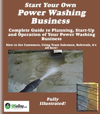 Start Your Own Power Washing Business Today!
