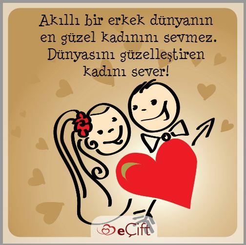 #GününSözü : Akıllı bir erkek dünyanın en güzel kadınını sevmez. Dünyasını güzelleştiren kadını sever! #kadın #erkek #ilişkiler #aşk #dünyayıgüzelleştirmek