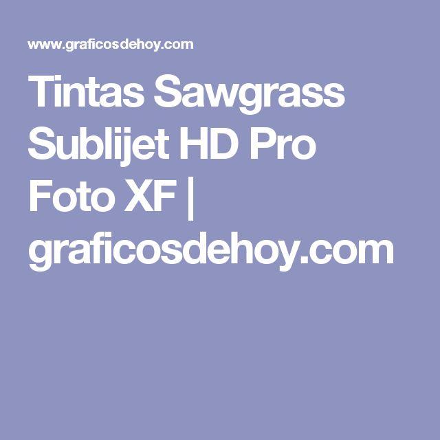 Tintas Sawgrass Sublijet HD Pro Foto XF | graficosdehoy.com