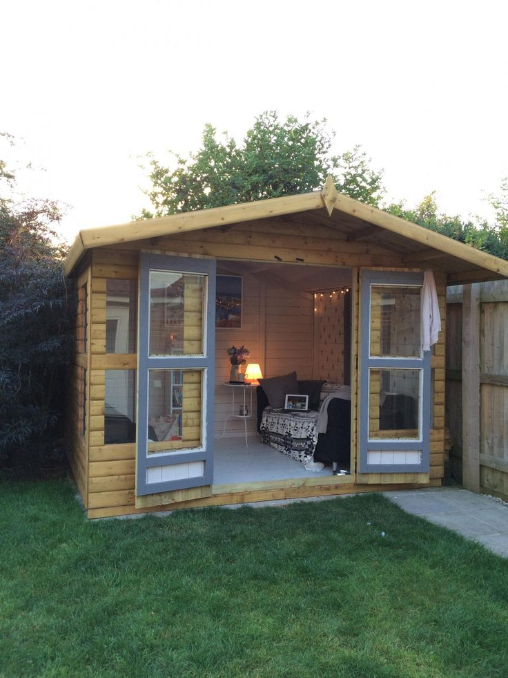 Turn your shed in to a home