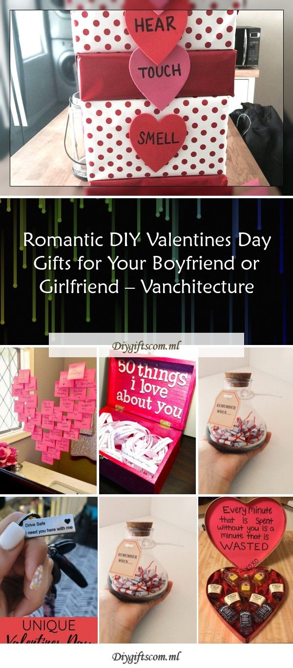 Romantic Diy Valentine 39 S Day Gifts For Your Boyfriend Or