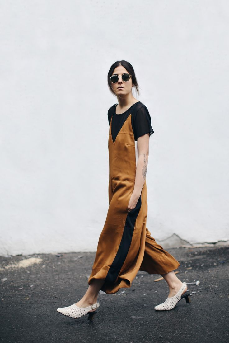 What we want now: a slinky slip dress.