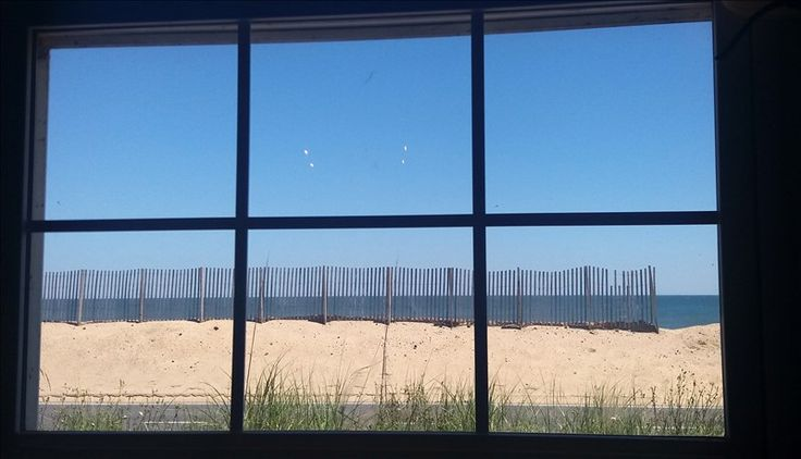 View from the Black Pelican Restaurant in Kitty Hawk