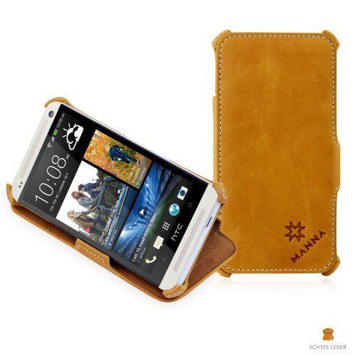 Manna-Funda de piel para HTC One (M7)   Función soporte   Flip Case Cover   Cuero de anilina marrón - http://www.tiendasmoviles.net/2013/11/manna-funda-de-piel-para-htc-one-m7-funcion-soporte-flip-case-cover-cuero-de-anilina-marron/