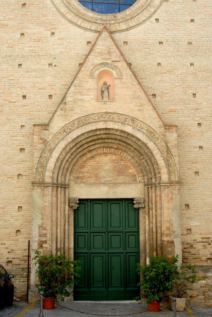 Chiesa di S.Domenico Portale #marcafermana #fermo #marche