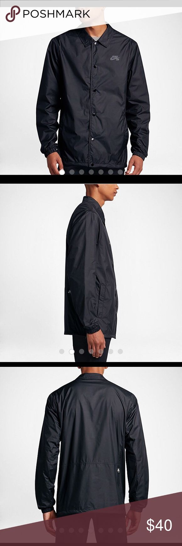Nike epic jacket - Nike Sb Coach S Shield Jacket Men S Nwt