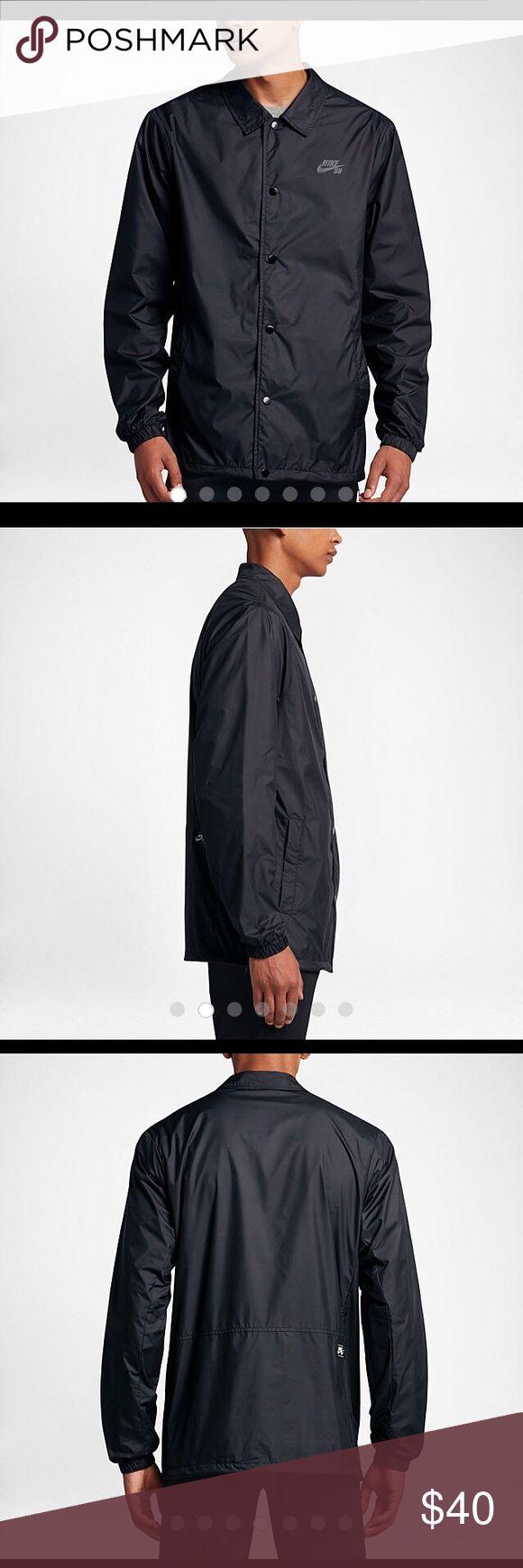 Nike SB Coach's Shield jacket men's NWT. Brand-New lightweight breathable waterproof jacket. Nike Jackets & Coats Windbreakers
