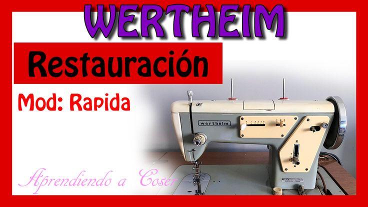 Cómo restaurar una Máquina de coser antigua de la marca