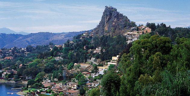 Vista aérea de Valle de Bravo. / Rafael Doniz