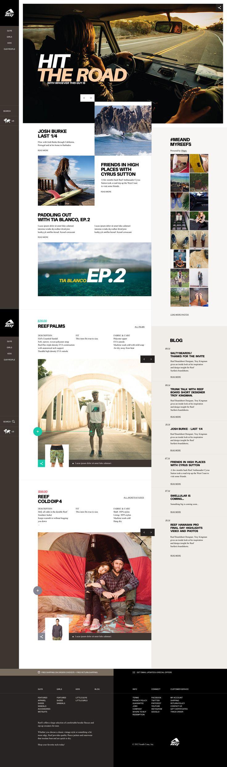 behancé    Thomas Le Corre    Web   Reef Concept      jpg (1450×4889)      Diseño interactivo Interfaz y exp. de usuario Diseño web