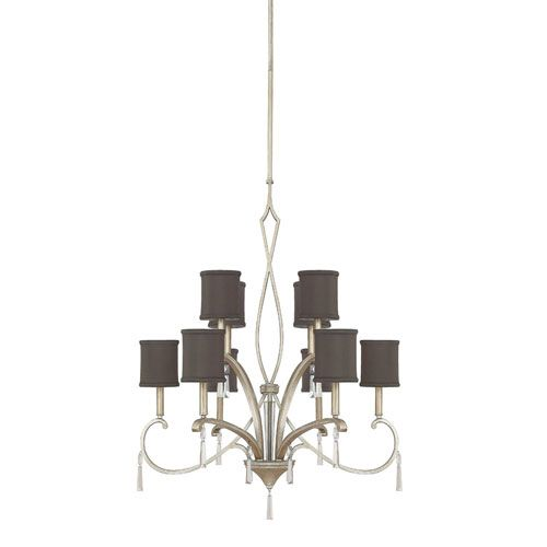 270 best capital lighting fixtures images on pinterest kitchen elan brushed silver ten light chandelier with crystals capital lighting 899 mozeypictures Image collections