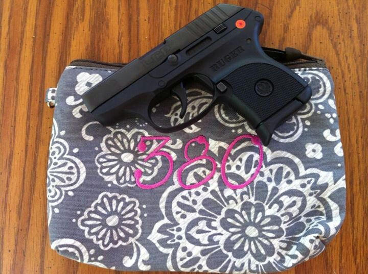 Mini Zipper Pouch For all you gun carriers, who says it can't be stylish!