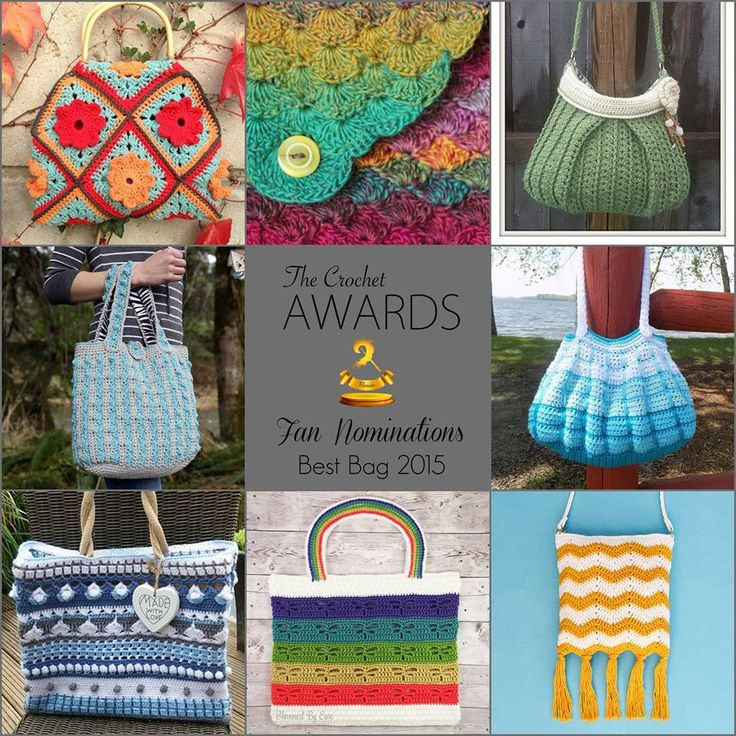 Fan Nominations for Best Bag 2015! | Happy Hippie from Bymami | Havfruetaske from Bymami | Antique Chic Purse by Amber Schaaf | I Heart U, Ma! Purse and Wallet by Katy Petersen | Gradient Blocks Handbag by Sonya Blackstone | Blue is blue shopping bag by Yvonne Gerichhausen | Dragonfly Beach Tote by Janaya Chouinard | Rip Tide Fringe Bag by Julie King