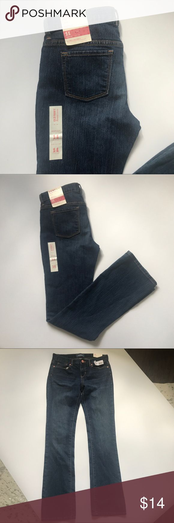 New with tags girls old navy boot cut jeans New with tags girls old navy boot cut jeans. Size 14 regular Old Navy Bottoms Jeans