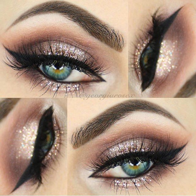 Champagne Eye Makeup Ideas Cosmeticstutor
