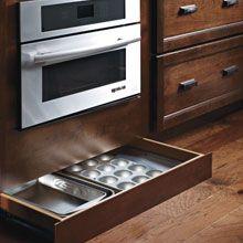 Toekick Drawer Open To Show Storage Capabilities Home Design Ideas