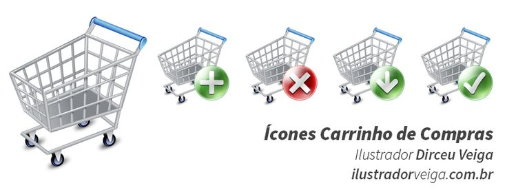 Ícones Carrinho de Compras - Ícones Grátis